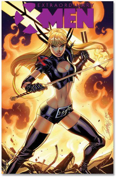 Extraordinary X-Men #1 J. Scott Campbell Signed Variant Cover