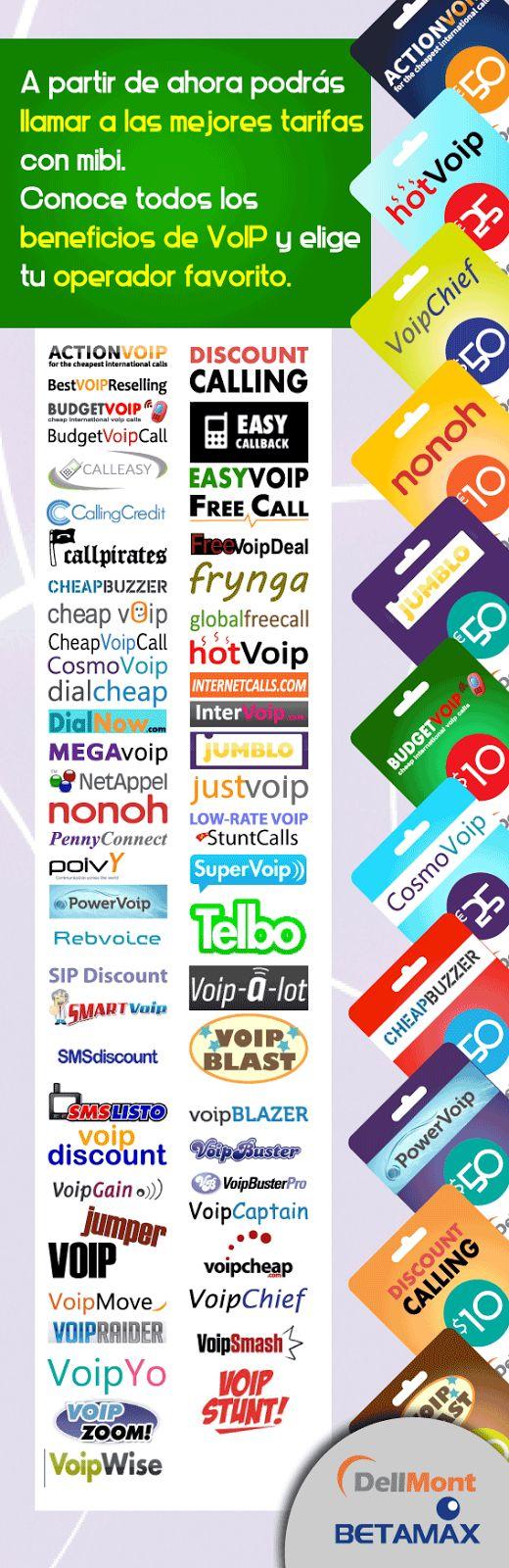 Ahora llama a las mejores tarifas con VoIP, Conoce todos sus beneficios y bajos precios. Entra Ya y elige tu operador favorito www.mibirecargas.com