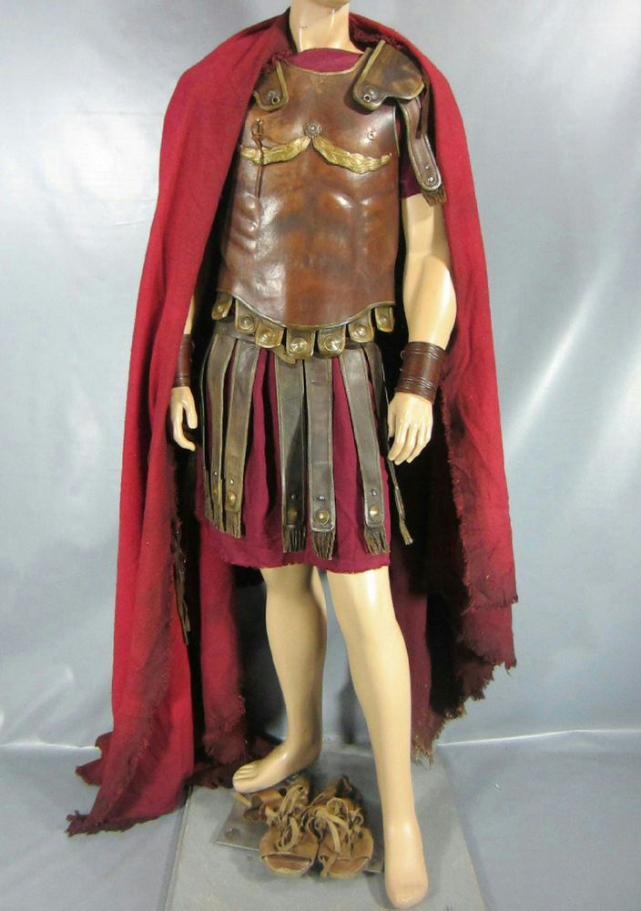 ROME MARK ANTONY SCREEN WORN MILITARY COSTUME MULTIPLE EPISODES