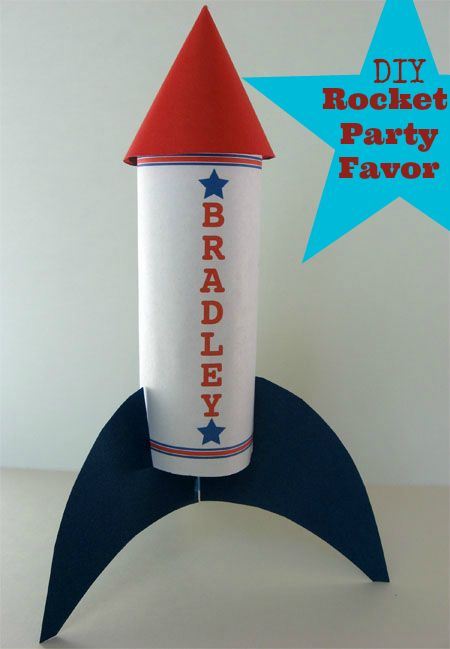 Build Your Own Fourth Of July Rocket Party Favor Www