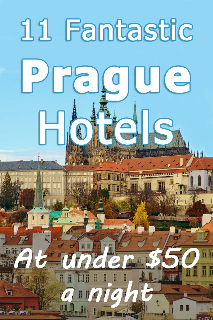 Prague Hotels at under $50 a night! Excellent hotels - not hostels - with private bathrooms, great service and best value for money!