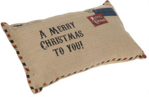 Kussen in  kerst enveloppe vorm - blauw rood jute: http://www.homi.nl/a-41374219/kerst/kussen-in-kerst-enveloppe-vorm-blauw-rood-jute/