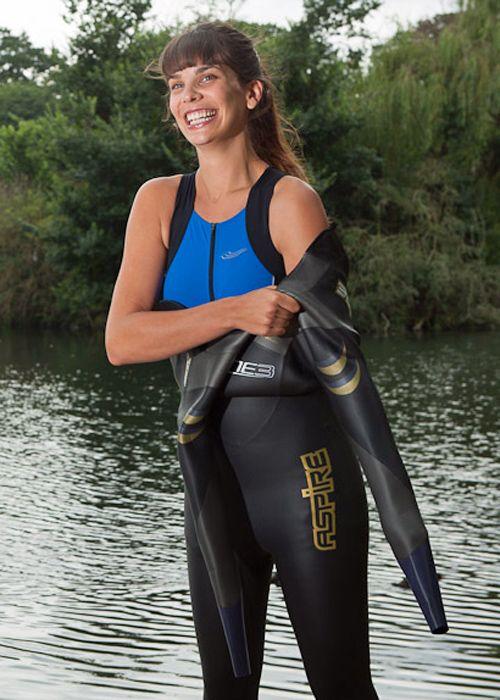 Beautiful girls in wetsuits