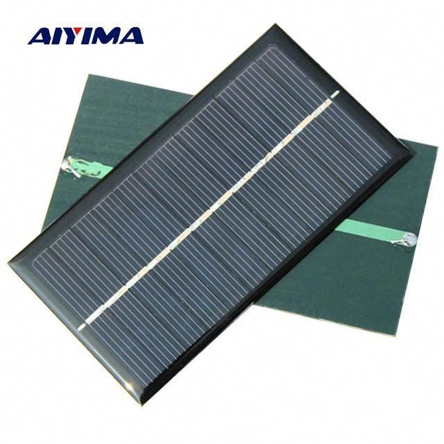 Aiyima 5pcs Solar Panel 1w 6v Polycrystalline Silicon Solar Drip Board For Solar Cell Diy 110 60mm Review Solarpanels S In 2020 Solar Panels Solar Energy Panels Solar