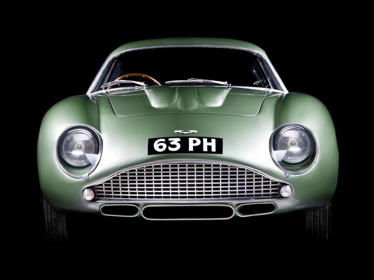 1960 Aston Martin DB4 GTZ.