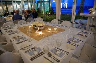 Hampton's table setting