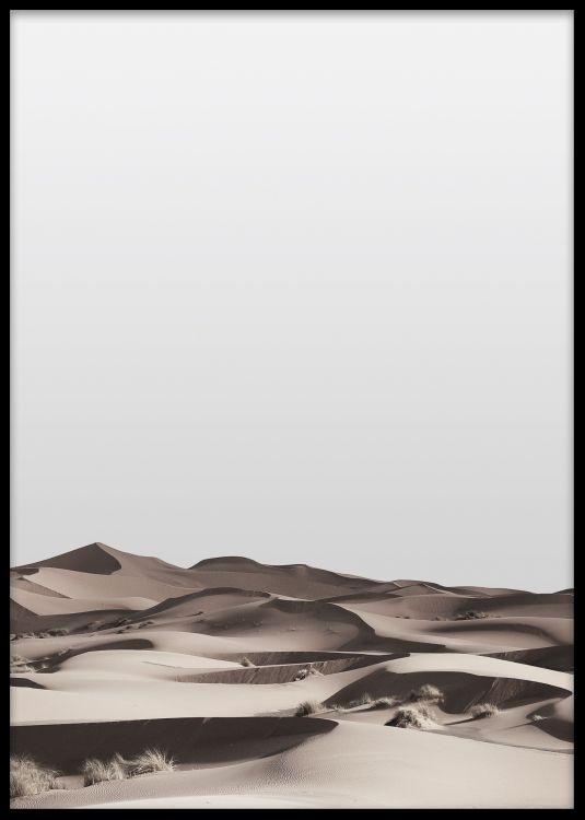 Desert, print i gruppen Posters och prints / Fotografier hos Desenio AB (7929)