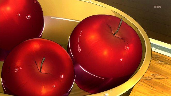 Mawaru Penguindrum 20, apples