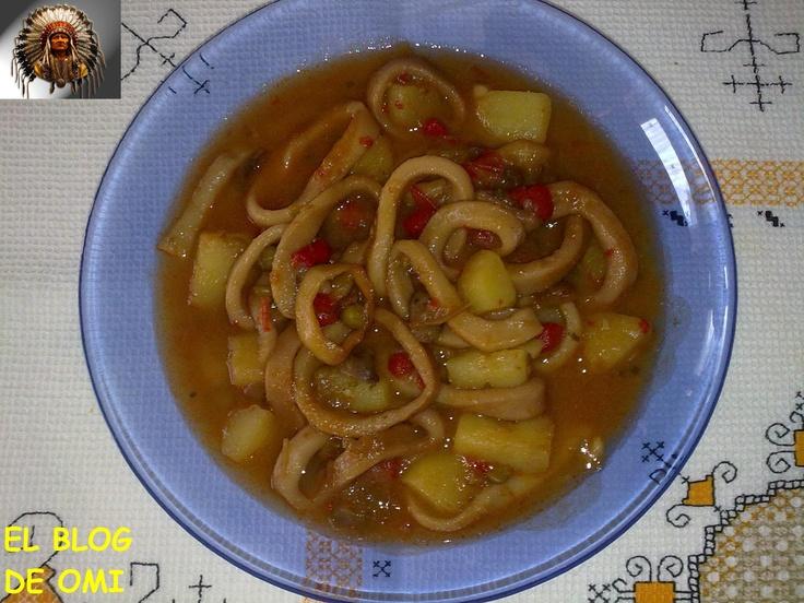 Marmitaco Calamares