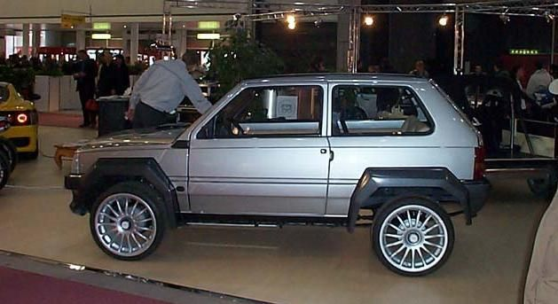 fiat panda 4x4 extreme tuning here in my car pinterest 4x4 d and bbc. Black Bedroom Furniture Sets. Home Design Ideas