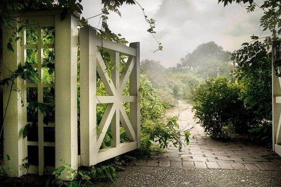 """Mystic Garden Gate"" photo by Gary Heller"