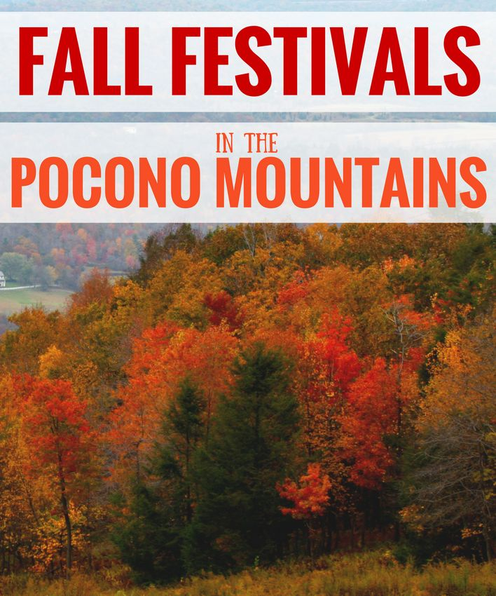 The Pocono Mountains are full of gorgeous colors in the fall. What better way to celebrate the beauty than a festival? #PoconMtns