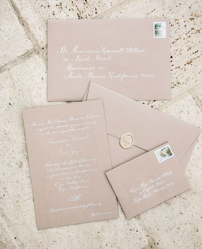 10 of our favorite simple wedding invitations!