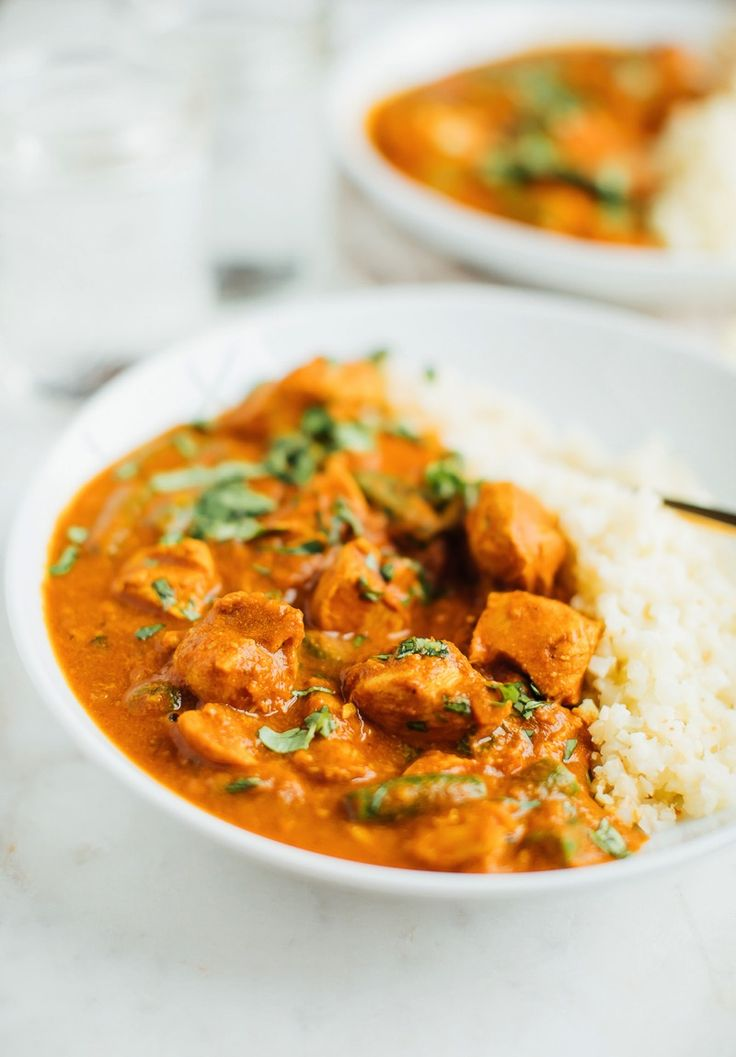 dairy-free slow cooker butter chicken