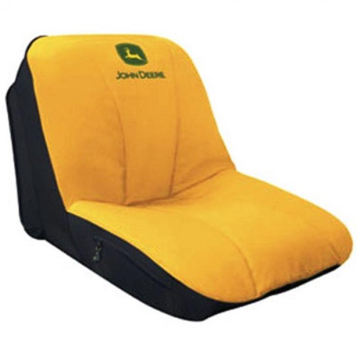 Bench Seat Cover John Deere : Deluxe john deere gator mower yellow seat cover m