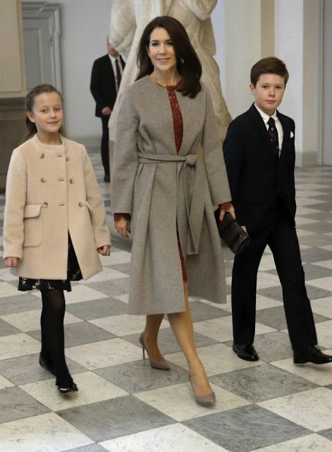 Royals & Fashion: Reception in honor of Olympic athletes, Copenhagen
