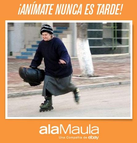 ¿ Sabes andar en Rollers ?  Argentina www.alamau.la/arrollers  Colombia www.alamau.la/corollers  Toda América www.alamau.la/red