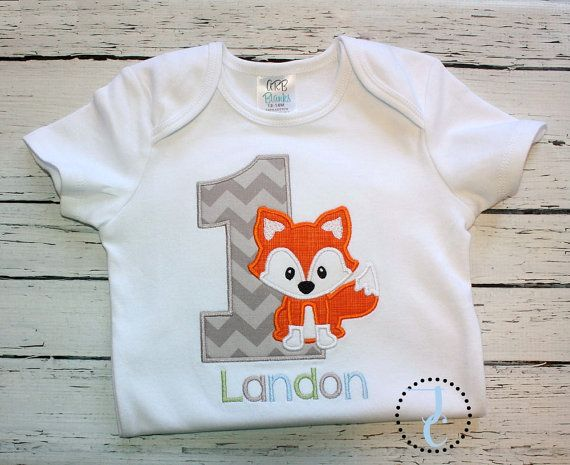 This fox birthday shirt is unique and can be easily customized by changing fabric or thread colors. Great for fox birthday themes, coordinating sibling outfits, twin birthdays and more! M2M pants, skirts, headbands, and chunky necklaces are available for this design so please dont hesitate to convo me to make this a full birthday outfit! The shirt can be made as shown (On white if other color is shown) or with your choice of colors. Please indicate color and number preferences in the notes…
