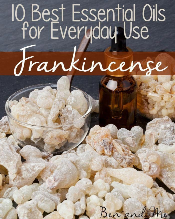 Everyday Uses for Frankincense Essential Oil and a Face Moisturizer for Aging Skin