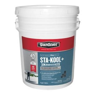 Gardner 5-Gal. Sta-Kool 805 Metal-X Metal Roof Coating-SK-8055 - The Home Depot