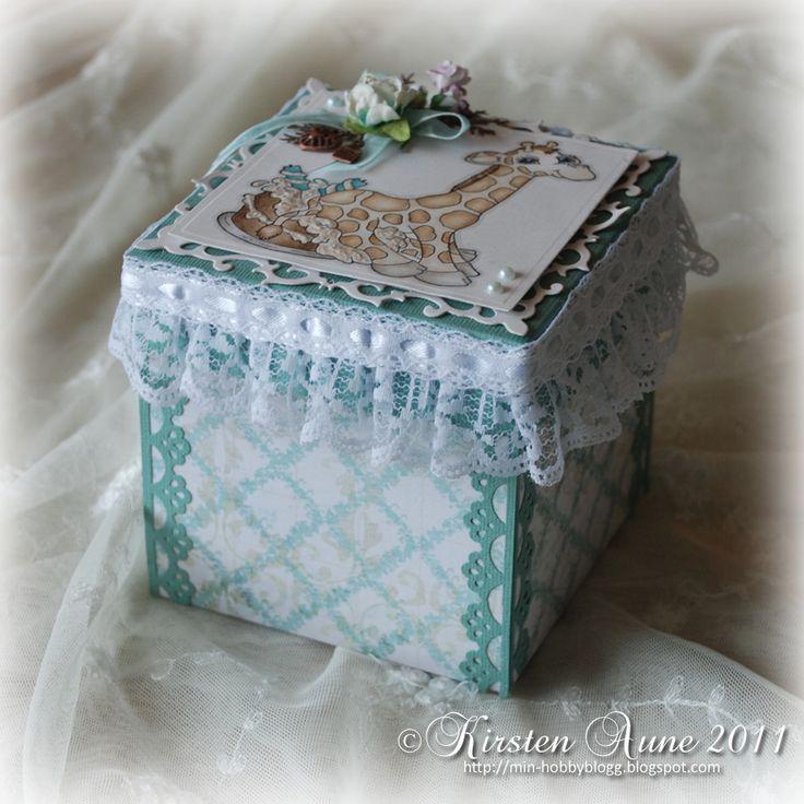 Kirstens Blogg: DT Unik Hobby - Big Comfy Cake