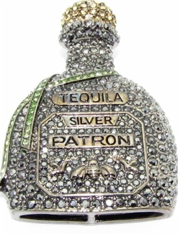 Bedazzled Patron!! ;)  LOOOOVEEE my Patron Silver.  Thanks Kimmie!