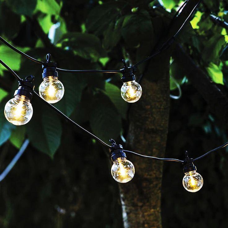 Image of Guirlande électrique design extérieure + intérieure Sirius ampoules transparentes (6m)