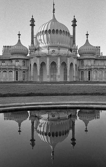 Royal Pavilion. Brighton, England. One of the first places I went in England