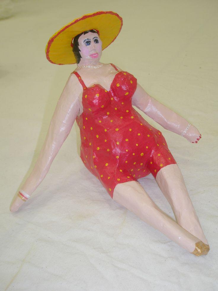 ceramic lady...