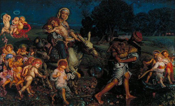 The triumph of the innocents (William Holman Hunt)