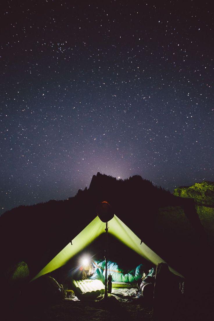 under the stars #camping #camplife #nightsky