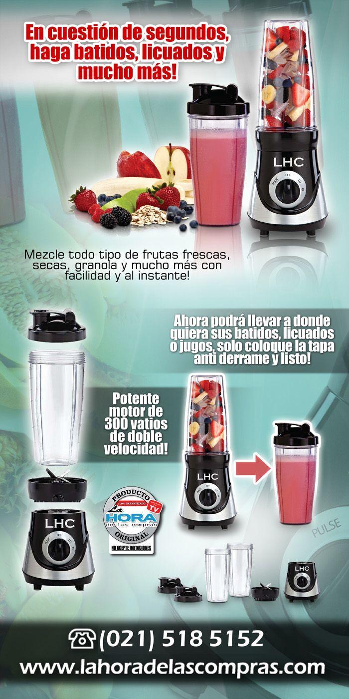 Solicítalo al 021-518-5152. #LHC #jugos #batidos #frutas www.compremejor.com
