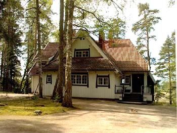Ainola, home of Sibelius, now a museum open to the public May - September