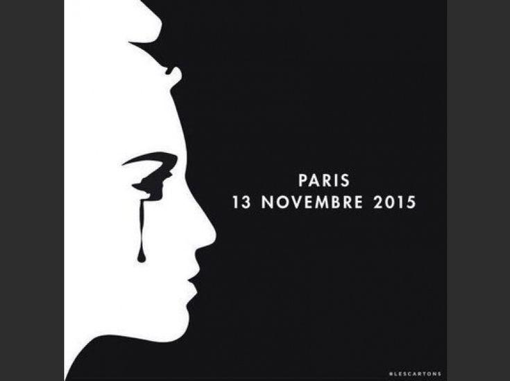 """EN IMAGES. """"Pray for Paris"""" : les hommages après les attentats sur les réseaux sociaux - L'Obs"""