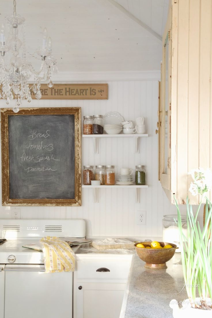 FRENCH COUNTRY COTTAGE: How to Style Shelves