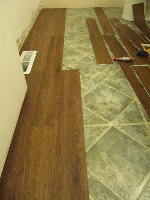 Sticker Wood Floor Tiles