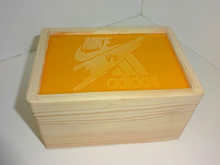 DD wooden box.
