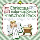 This 7-page ABC freebie features a super simple angel and baby Christ theme for preschool Christmas units. Color, trace, and match in this free min...