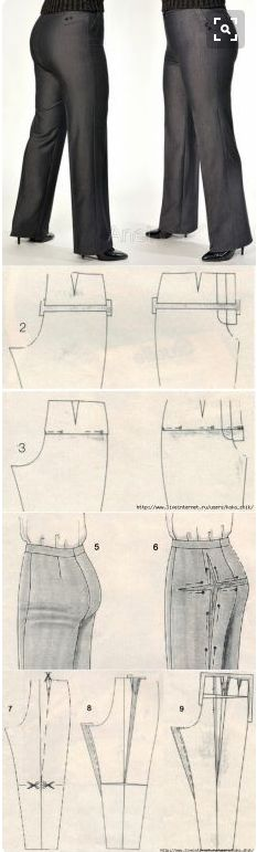 adjusting a pattern to have a great fit in the seat