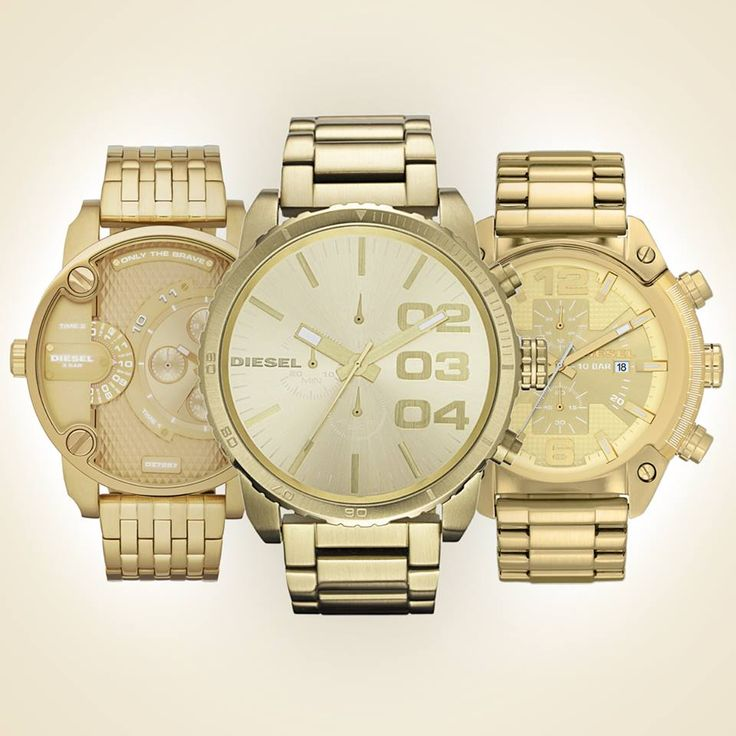 Welcome to the golden era. These metallic timeframes are the perfect companion. Are you brave enough? #diesel