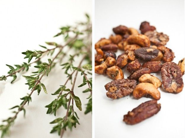 sweet and savory spiced nuts tie them in cellophane, add a ribbon and ...