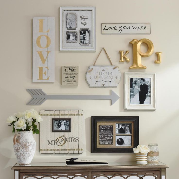 A #gallerywall done right is beautiful, but it can be hard to create! That's why we've laid out three easy steps for how to create one on our blog! Kirklands