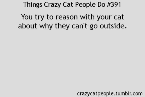there seems to be a whole page for crazy cat people @Leslie Lippi Lippi Lippi Terrence