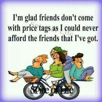 My friends are priceless! | friends | Genuine friendship ...