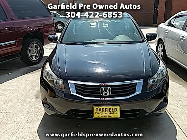 Buy Here Pay Here 2008 Honda Accord for Sale in Parkersburg, WV 26101 Garfield Pre Owned Autos