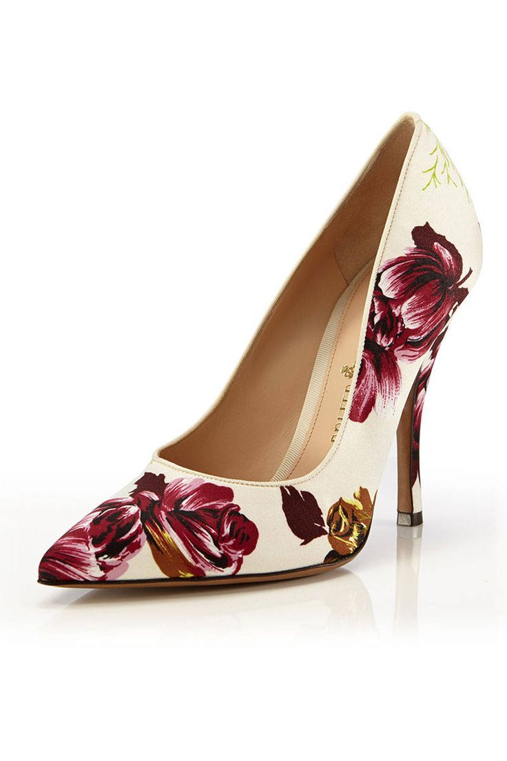 The Ten Pumps that Will Brighten Your Day - Best Floral Pumps - Elle