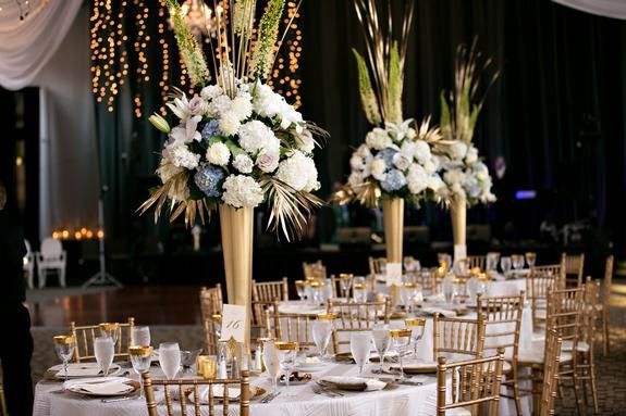 Swanky Soiree Wedding Wedding At The Depot Minneapolis Linen Effects Wedding Event And Party Rental Decor Loca Wedding Rentals Rental Decorating Wedding