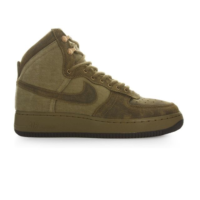 Nike Air Force 1 Hi Dcn Military ANTIQUE GOLD