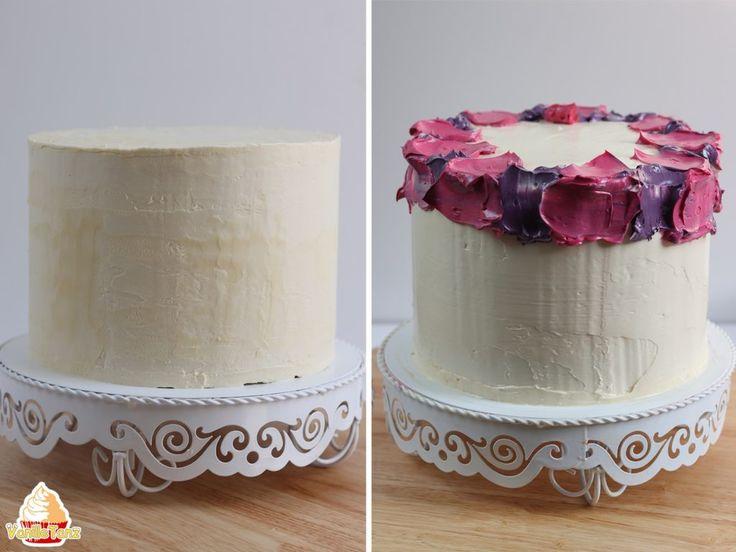 Tutorial Aquarelltechnik auf Torte – VanilleTanz