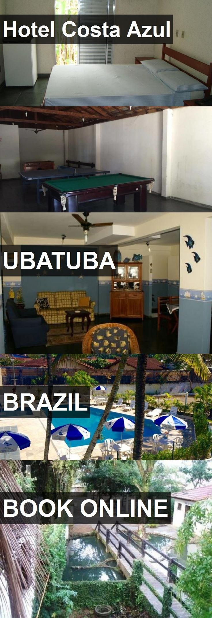 Hotel Hotel Costa Azul in Ubatuba, Brazil. For more information, photos, reviews and best prices please follow the link. #Brazil #Ubatuba #HotelCostaAzul #hotel #travel #vacation